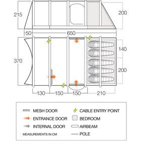 Vango Solace Air TC 500XL Tent nutmeg